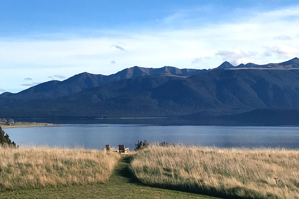 New Zealand Trips - Best Places to Go - Lake Te Anau, the View from Fiordland Lodge