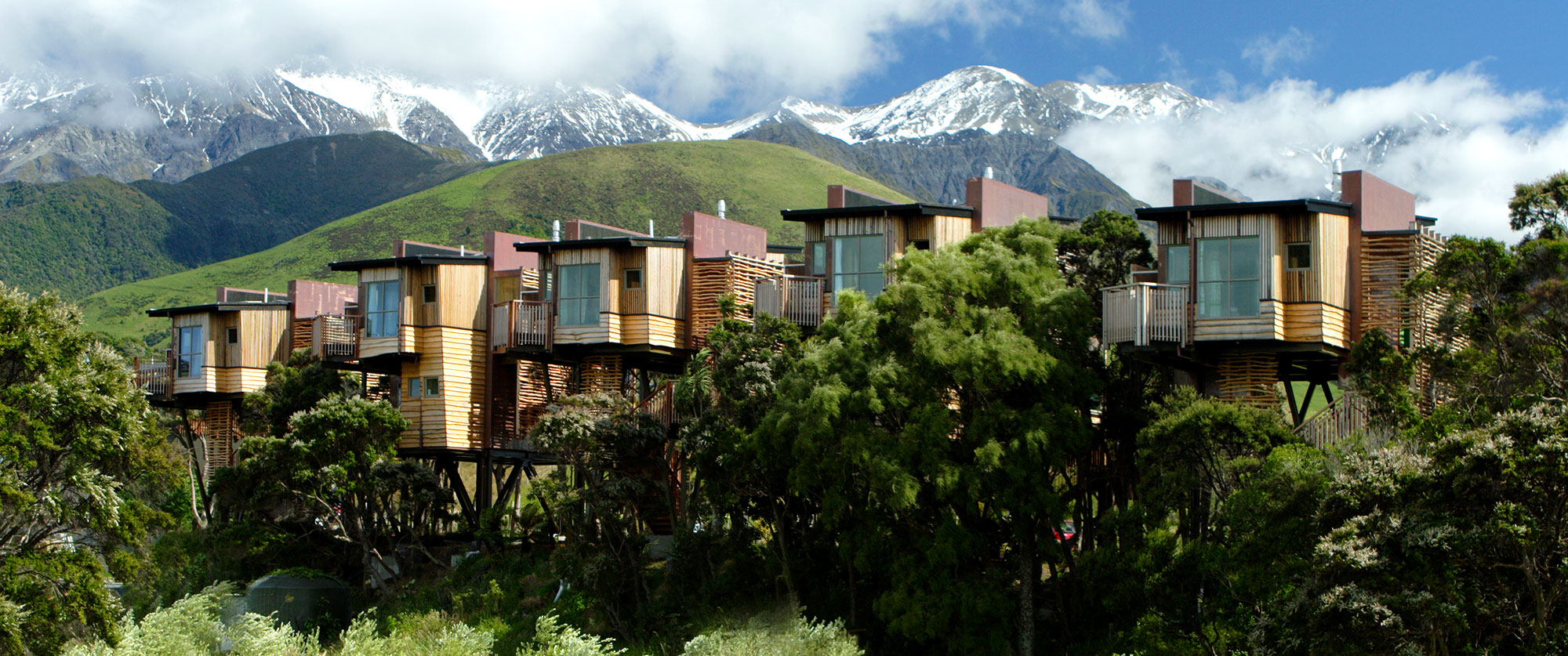 Indulgent Escape: New Zealand Luxury Vacation - Hapuku Lodge Luxury Treehouses