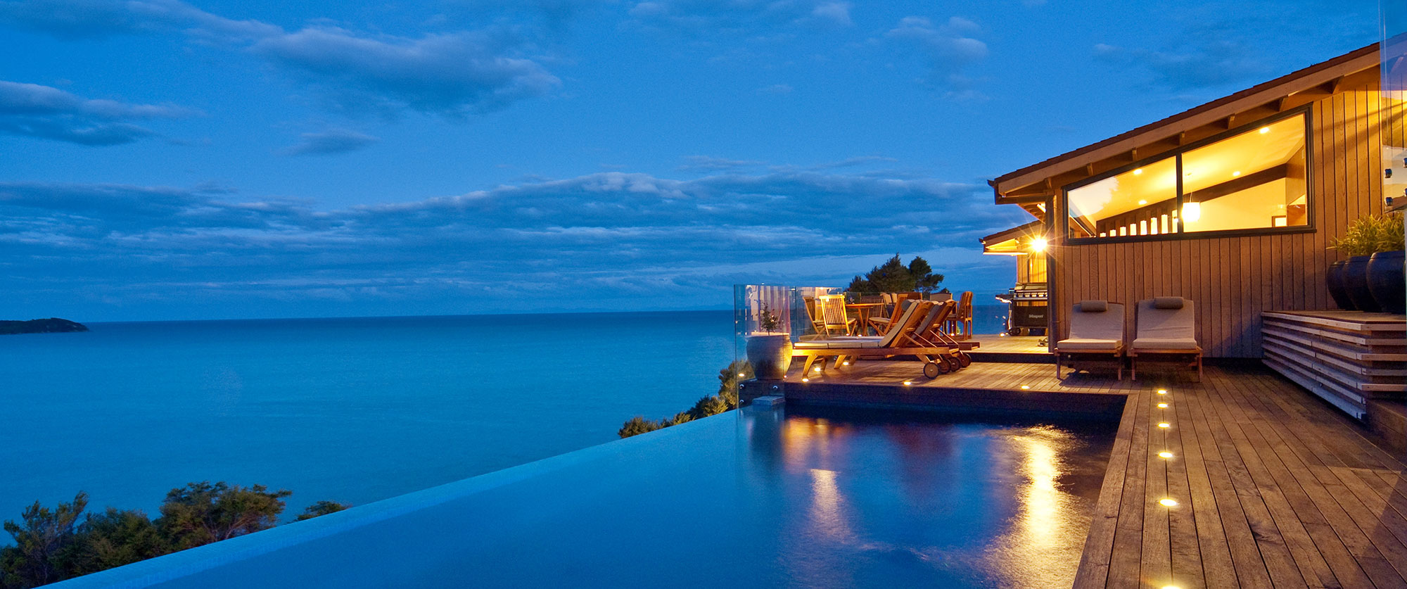 New Zealand Romantic Luxury Vacation - Split Apple Retreat, Luxury Resort in Nelson Abel Tasman