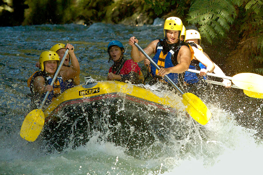 New Zealand Ultimate Adrenaline Package - Whitewater Rafting in Rotorua