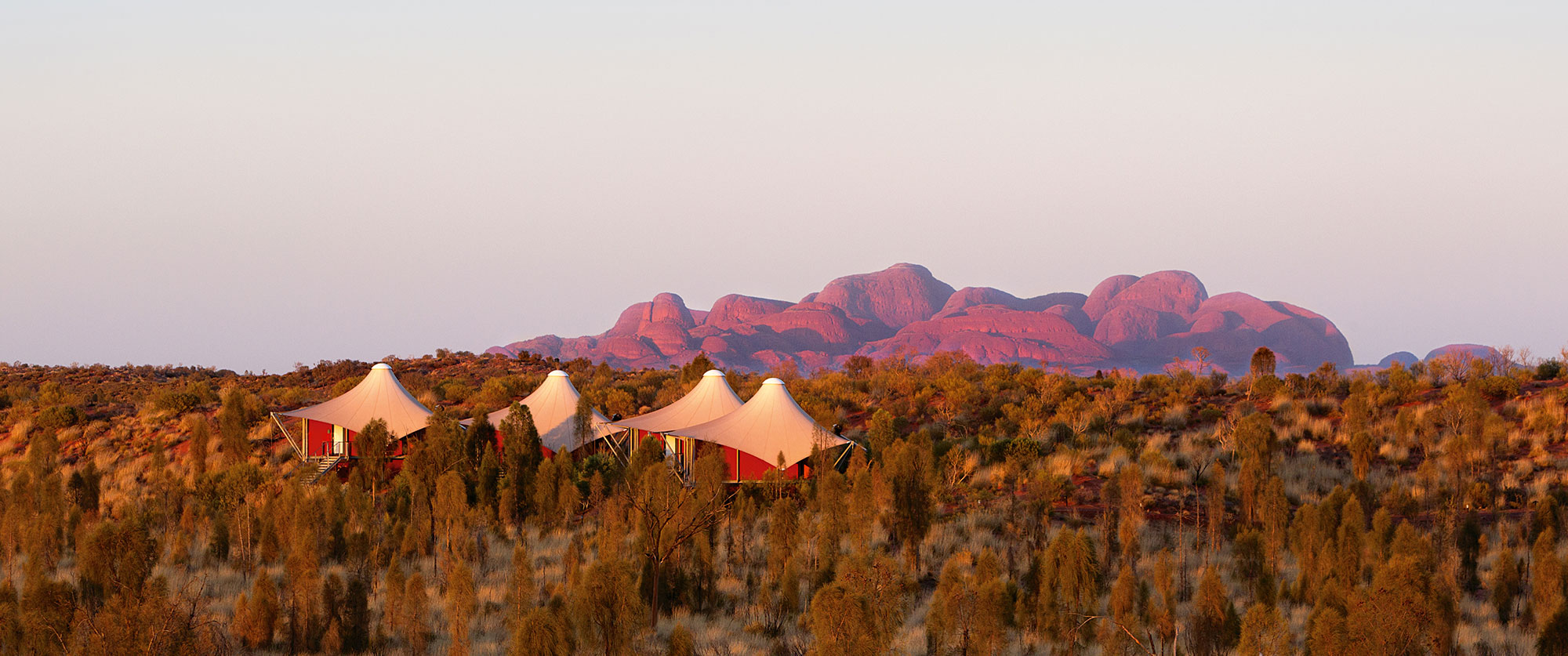 Spoil the Senses: Essential Australian Luxury - Longitude 131 Luxury Outback Hotel