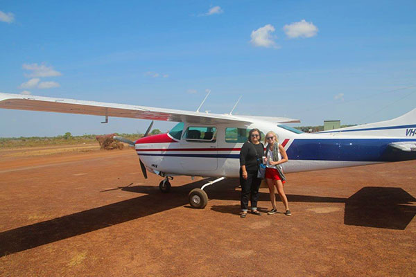 Authentic Outback Experience - Bamurru Plains Australia - Flying Into the Outback