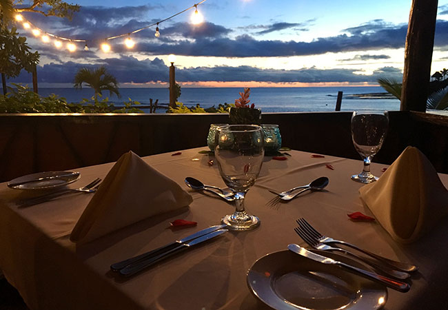 Best of Fiji - Dinner with Ocean Views at Savasi Island Resort Fiji