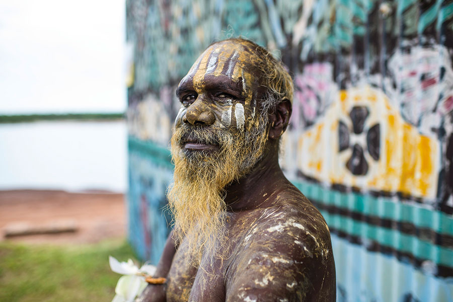 Take a day trip from Darwin to the Tiwi Islands, known for the traditional Aboriginal lifestyle.