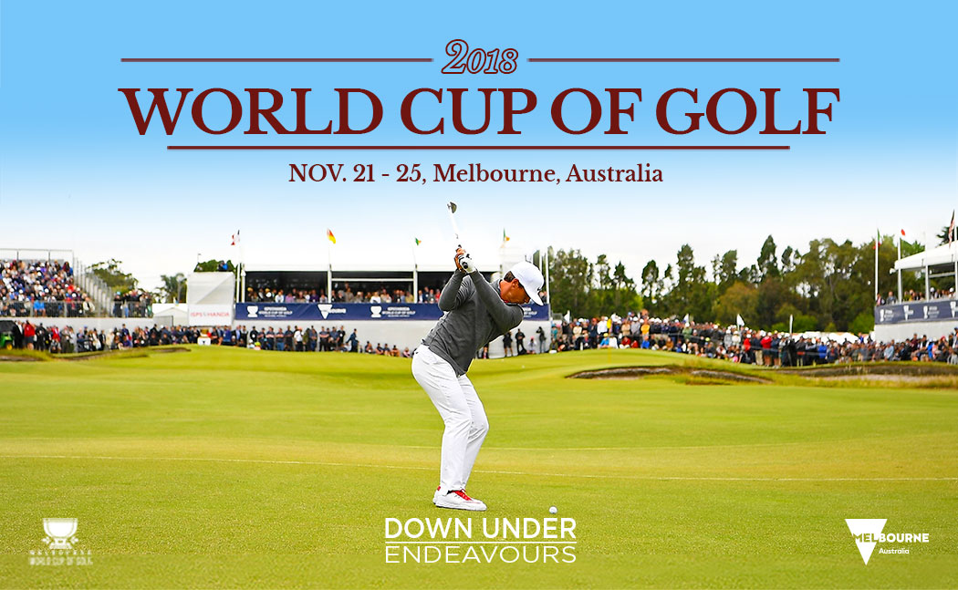 2018 World Cup of Golf in Melbourne, Australia