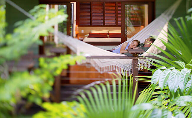 Silky Oaks Lodge Australia - Suite with Hammock