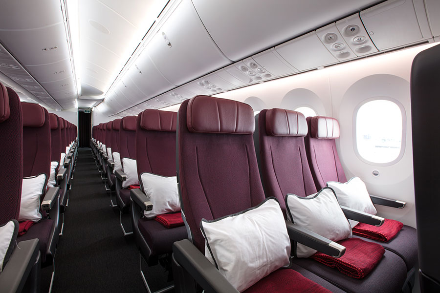 Qantas Economy Cabin - Book Your Trip to Australia
