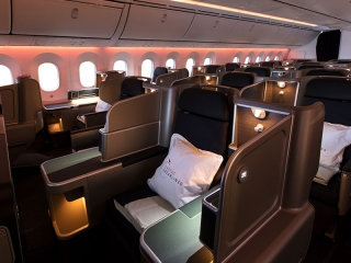 Qantas Business Class Cabin - Book Your Trip to Australia
