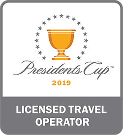 Down Under Endeavours, a Licensed Travel Operator for the 2019 Presidents Cup PC19ROW-1130