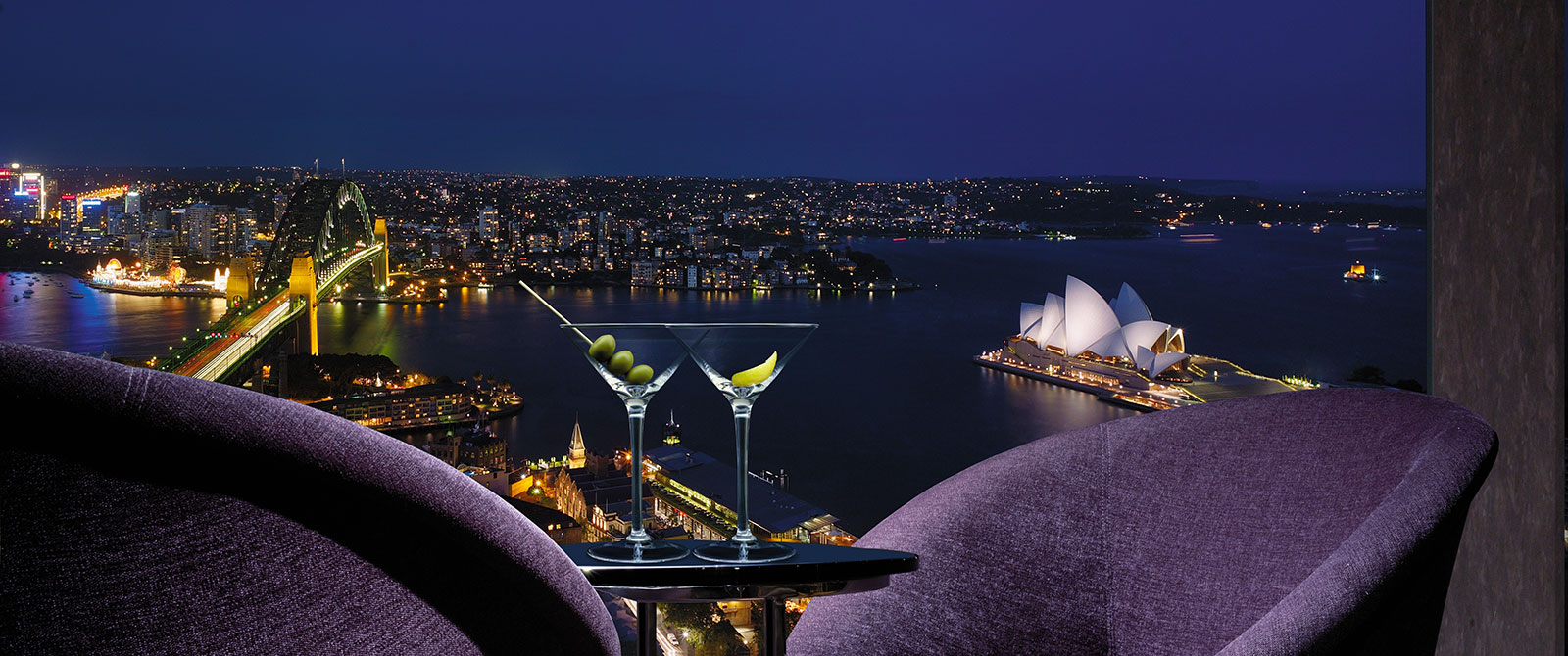 Harbour Views at Shangri-La Hotel Sydney - Australia Highlights Vacations