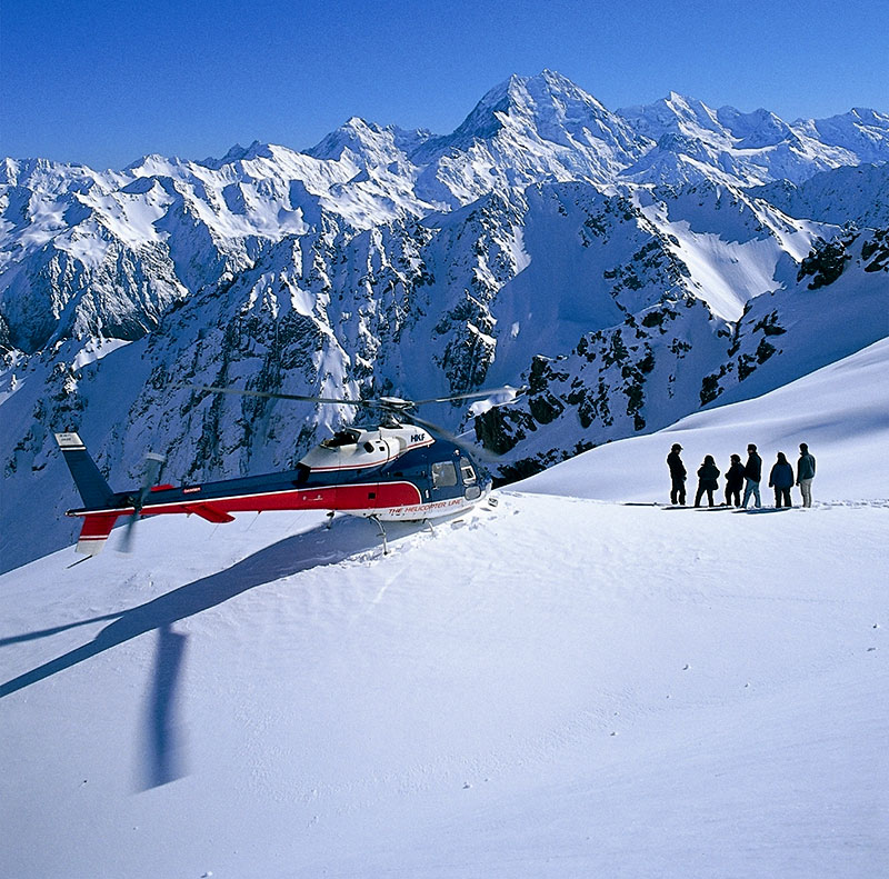 Helicopter to a Glacier in Queenstown - The Helicopter Line