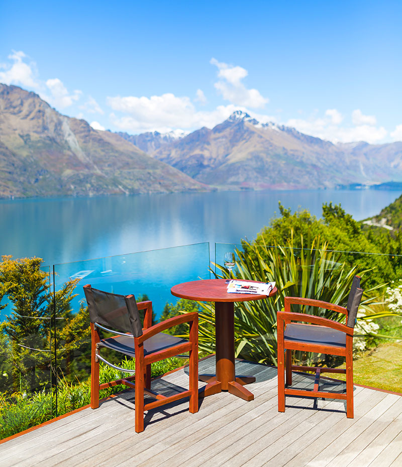 Azur Lodge Queenstown - Views of Lake Wakatipu