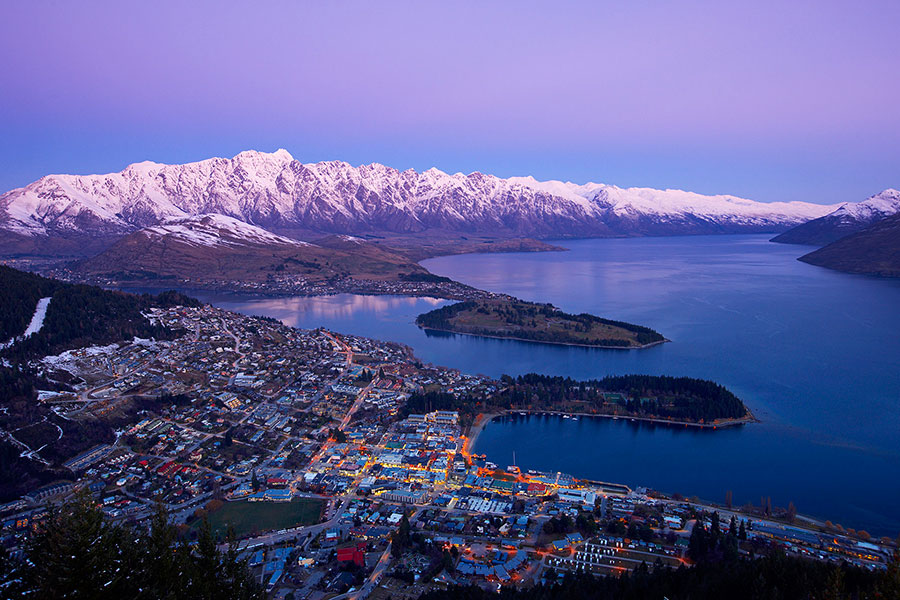 Sunset View on Bob's Peak, Queenstown