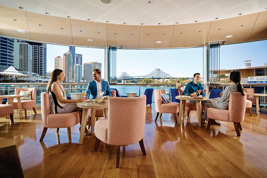 Brisbane, Australia - Cosmopolitan Dining with a View