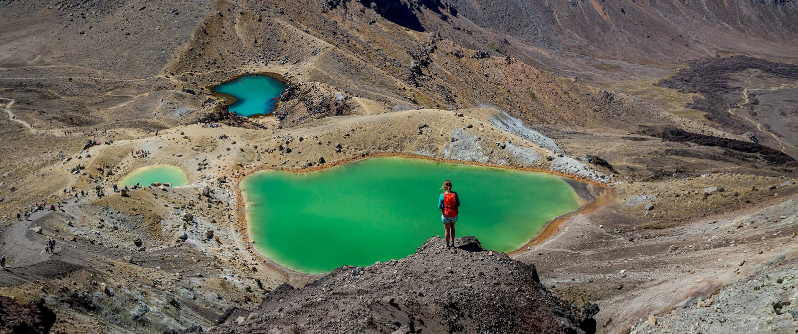 Tongariro Alpine Crossing New Zealand - Active Nature Retreat