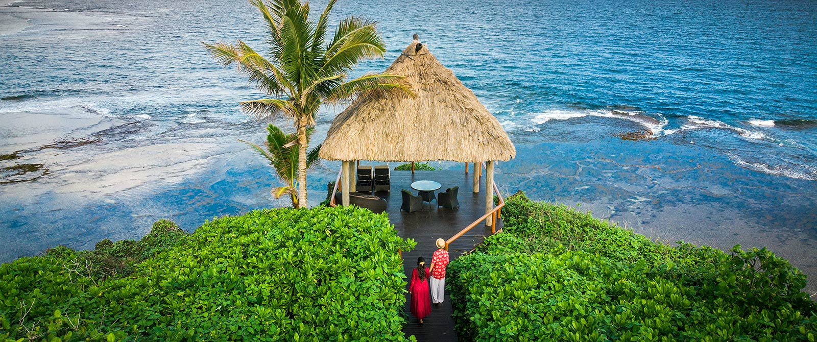 Tropical Ocean Views at Namale Resort & Spa Fiji - Active Nature Retreat Package