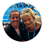 Corinne Goodman, Owner of Down Under Endeavours, at the Australian Open 2019 Semi Finals