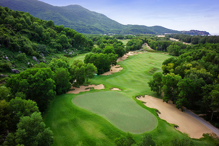 7th Hole at Laguna Lang Co Golf Course, Vietnam