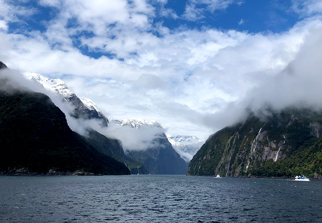 Milford Sound View from the Boat