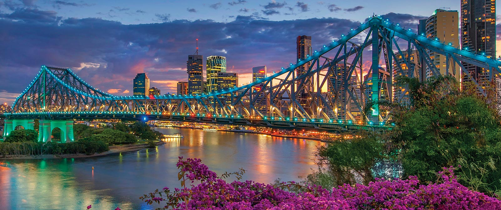 Story Bridge and the Brisbane Skyline - Australia Reef, Rainforest, and Brisbane Explorer Package