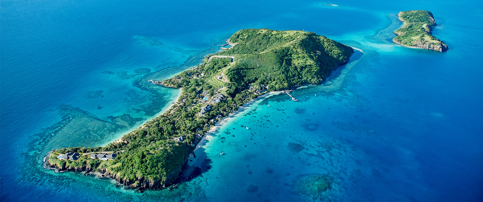 Kokomo Private Island - Aerial View